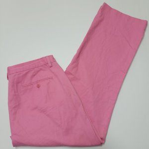 Ralph Lauren Women's Chino Pants - Pink - Flat Fro